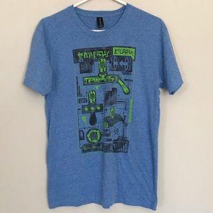 Rick And Morty Portal Gun Loot Crate T-Shirt M